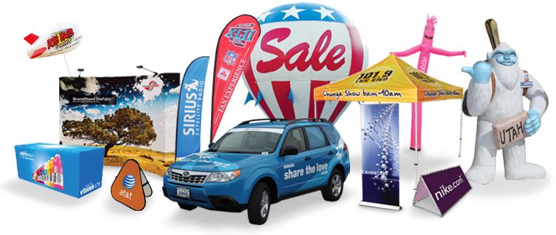 Utah Tents, Banners & Signs Utah, Outdoor Advertising Utah | Visible